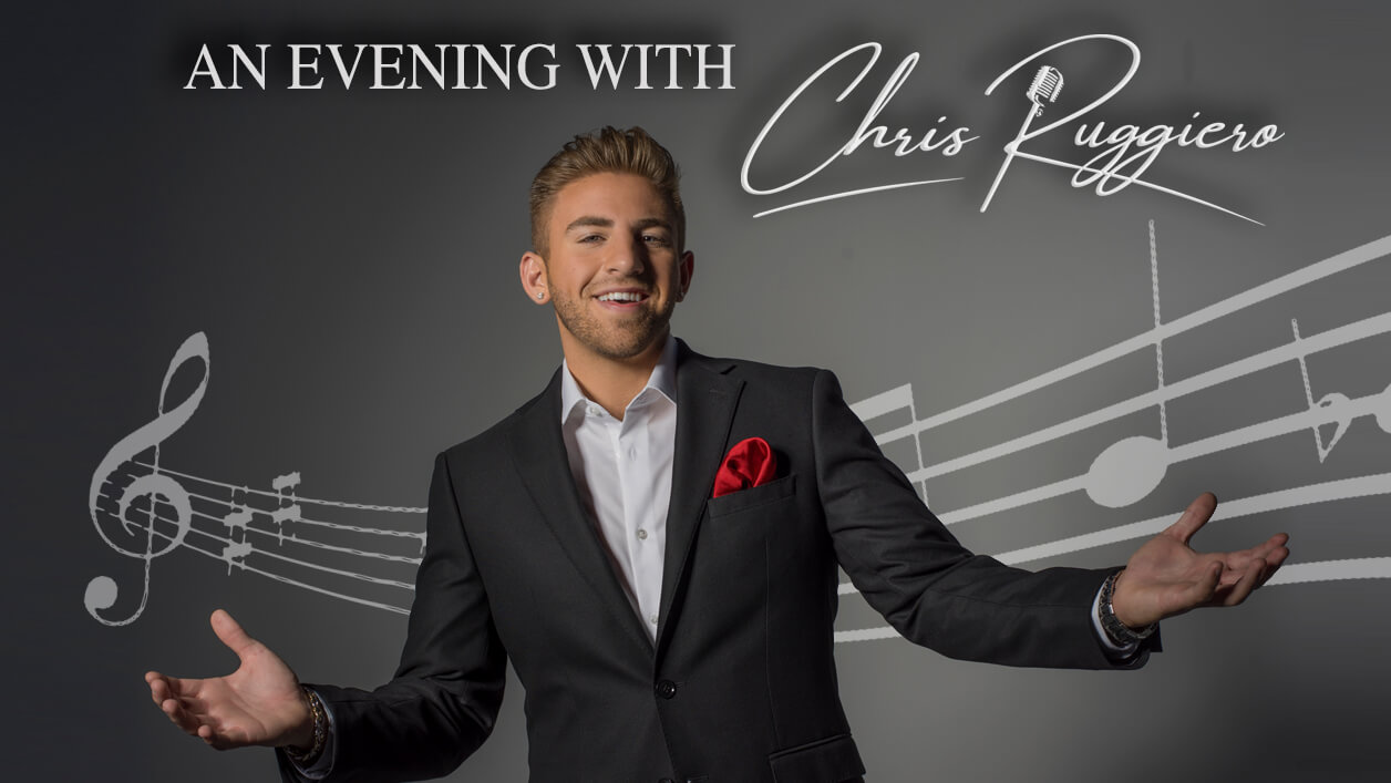 An Evening with Chris Ruggiero concert on March 20, 2022 at the Ormond Beach Performing Arts Center