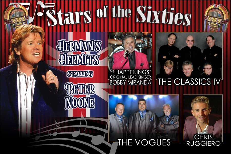2021-10-22-Joliet-IL Rialto Square Theatre (Herman's Hermits starring Peter Noone, Bobby Miranda, Classics IV, The Vogues & Chris Ruggiero)