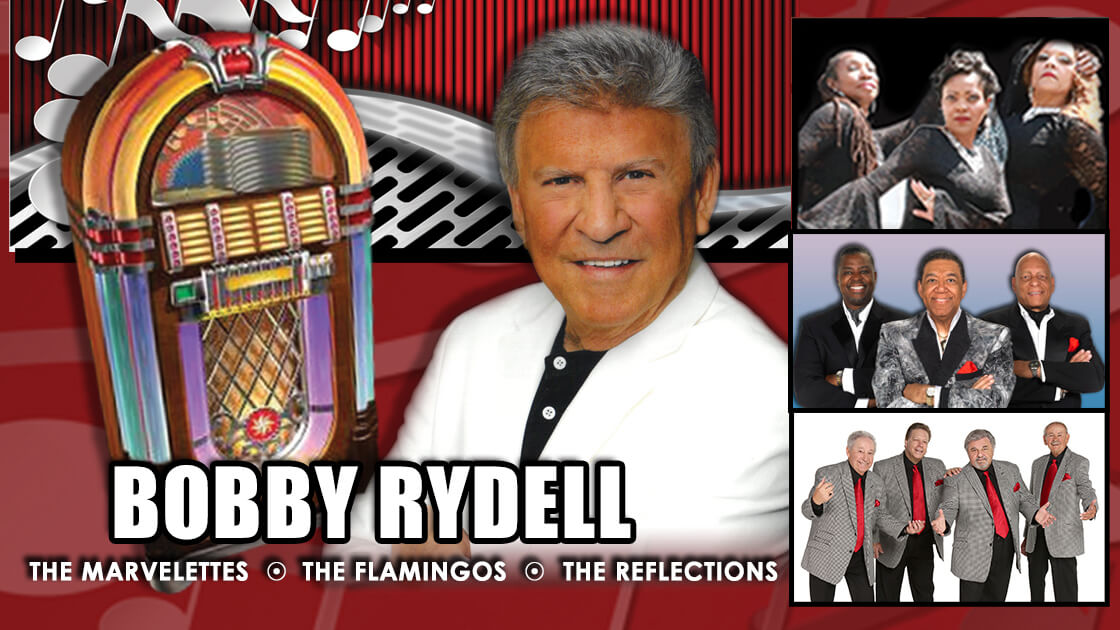 2021-10-30-Capitol Theatre in Wheeling, WV-60s concert (Bobby Rydell, The Marvelettes, The Flamingos, The Mystics